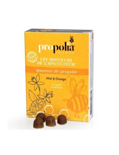 Gommes de propolis Orange - Propolia