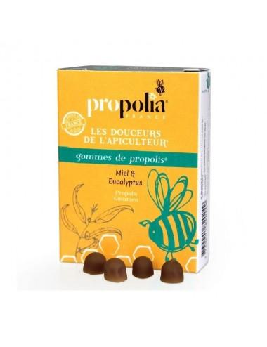 Gommes de propolis Miel & Eucalyptus - Propolia