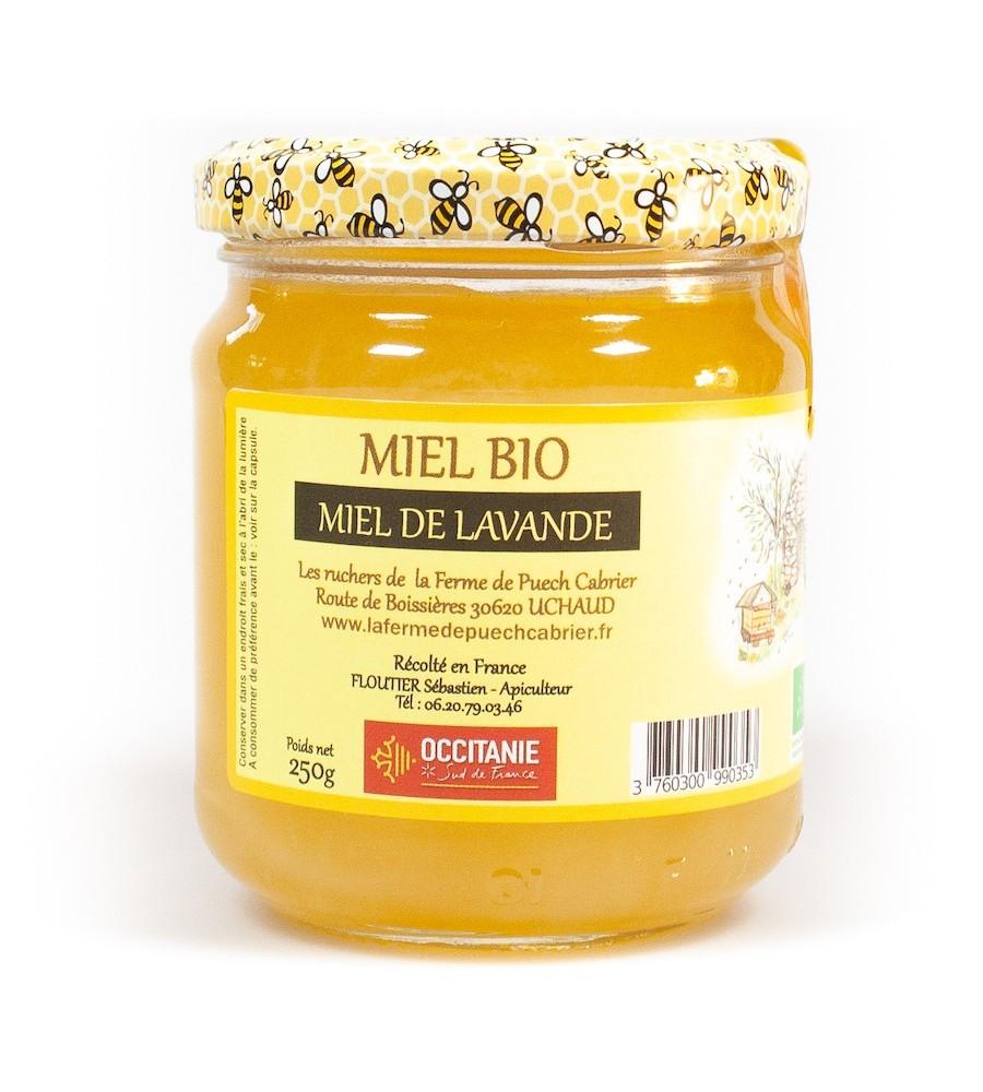 Miel Bio de Lavande IGP Miel de Provence 250G