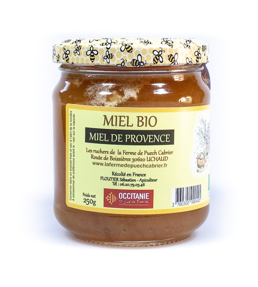 Miel Bio de Provence IGP Miel de Provence 250G