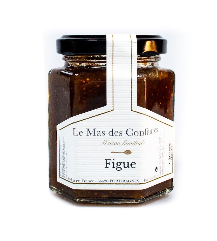 Confiture Figue - Le mas des confitures