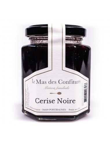 Confiture Cerise noire - Le mas des confitures