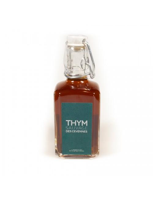 Sirop de thym Bio 25cl - Thym des Cévennes