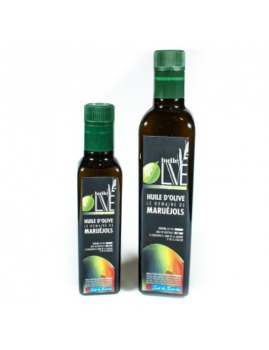 Huile d'olive extra vierge 50cl - Domaine du Bois Sacré
