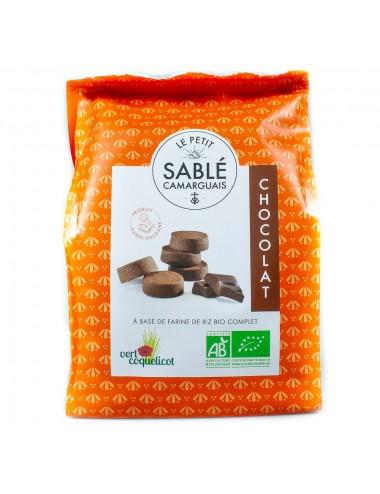 Petit Sablé Camarguais Bio Chocolat - Vert Coquelicot