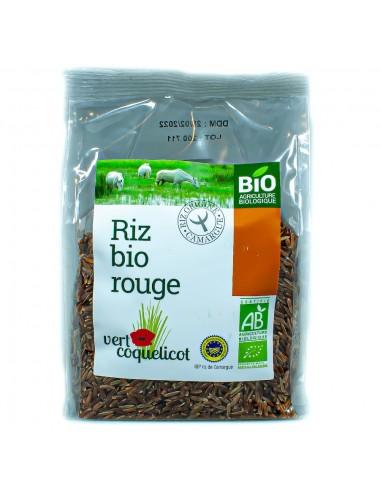 Riz de Camargue Rouge complet IGP Bio