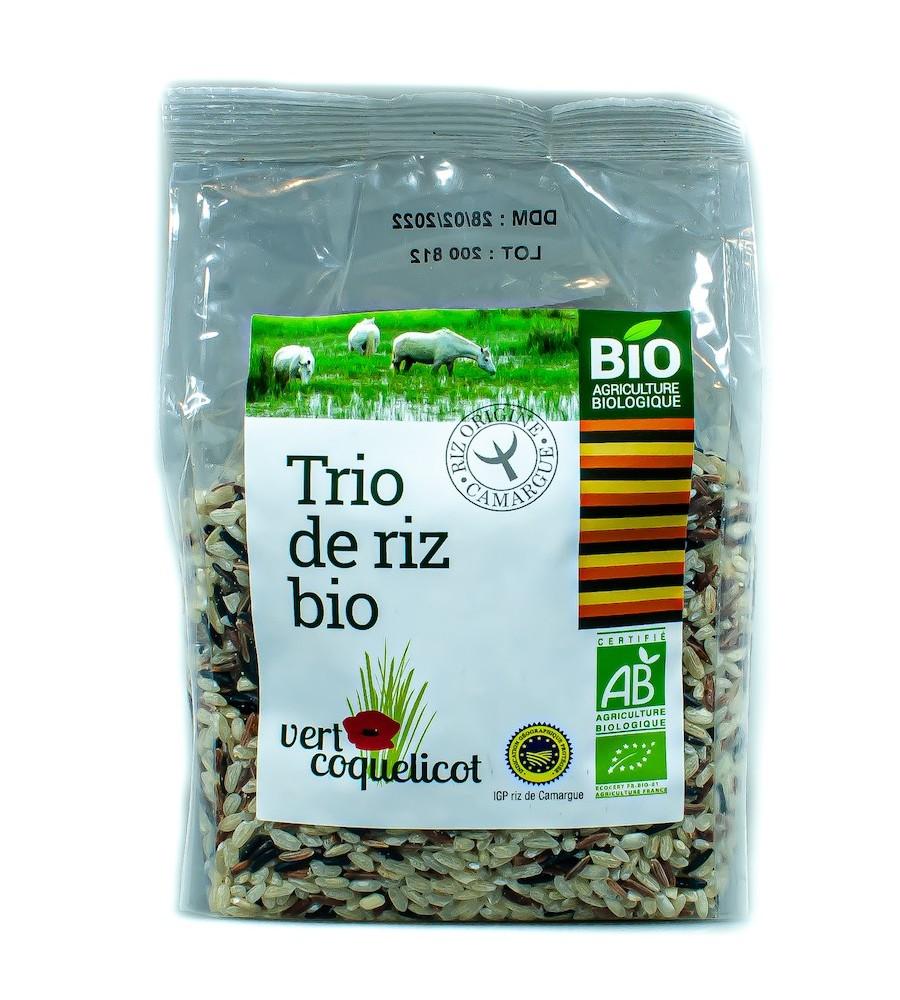 Trio de riz de Camargue IGP Bio