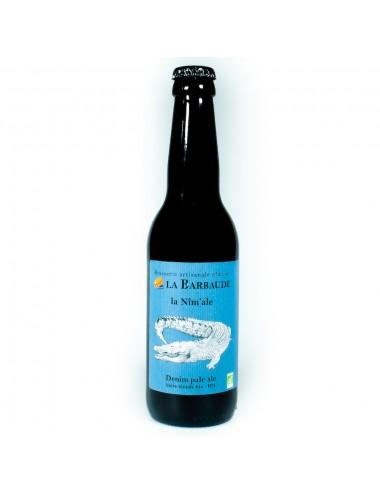 Bière Artisanale La Nîm'ale 33cl - Blonde BIO - Brasserie La Barbaude