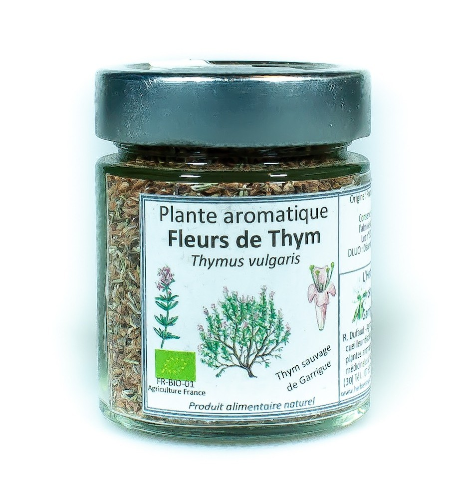 Fleurs de Thym sauvage BIO de Garrigue 15g