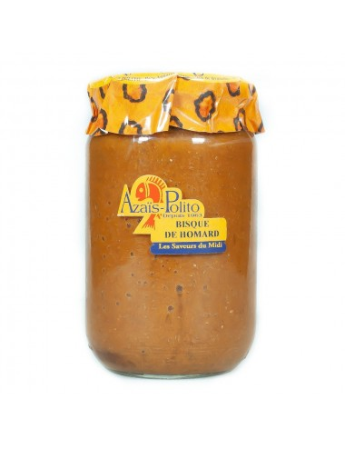 Bisque de Homard artisanale 370ml - Azaïl Polito