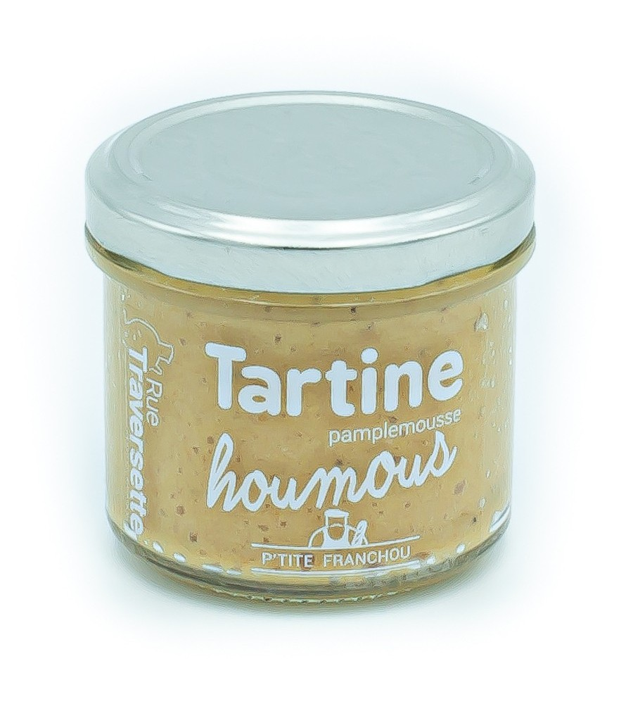 Tartine Franchouillarde Houmous Pamplemousse - 110g