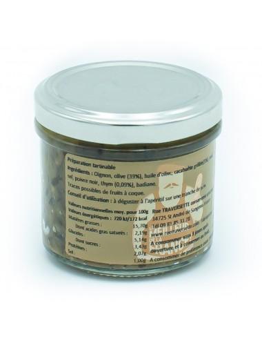 Tartine Franchouillarde Olive - cacahuète & thym - 110g