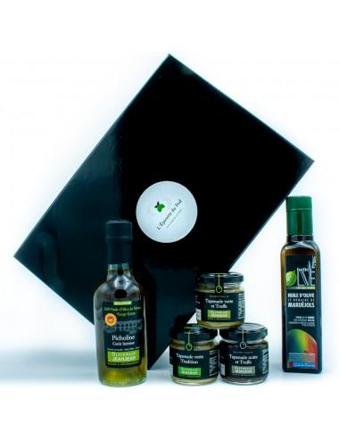 Coffret cadeau « Autour de l'Olive »