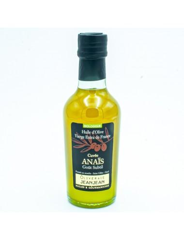 Huile d'olive vierge extra cuvée Anaïs 25cl - Domaine Jeanjean