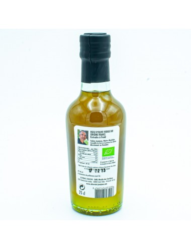 Huile d'olive vierge extra cuvée Marcel 25cl - Domaine Jeanjean