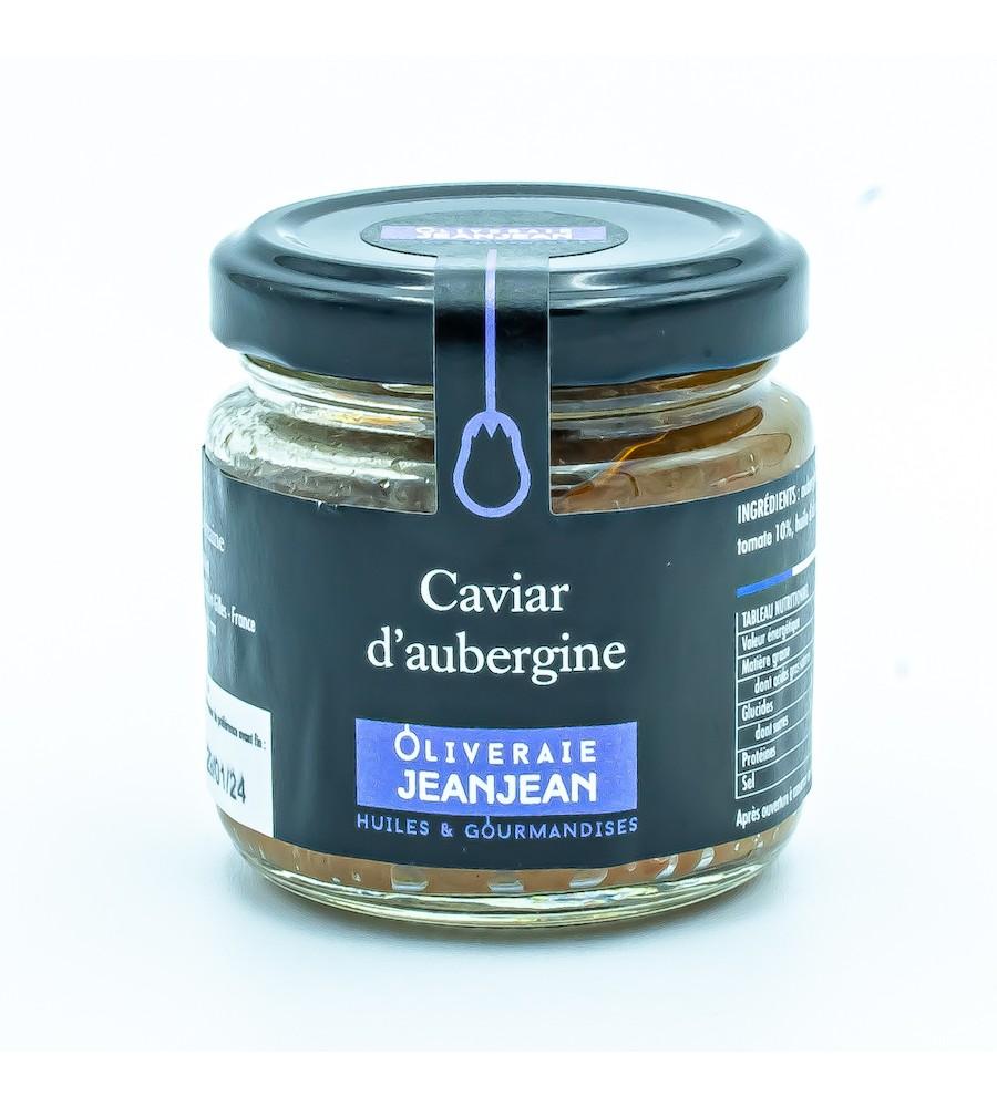 Caviar d'aubergine 85g - 100% naturel - Domaine Jeanjean