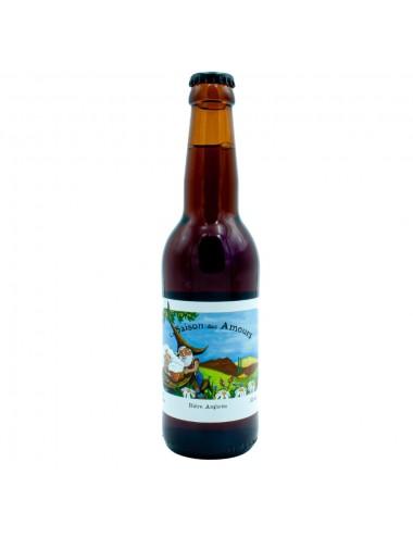 Bière Bio Ambrée artisanale La Saison des Amours 33cl - Brasserie des Garrigues