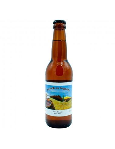 Bière Bio Blonde artisanale La Belle en Goguette 33cl - Brasserie des Garrigues