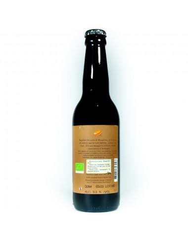 Bière Ambrée L'Ocre 33cl - Brasserie La Barbaude