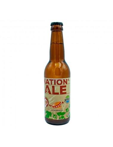 Bière Blonde Nation'ale 33cl - Brasserie La Barbaude
