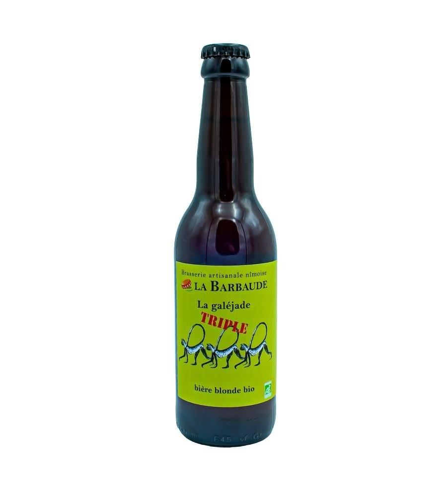 Bière Blonde Galéjade Triple 33cl - Brasserie La Barbaude