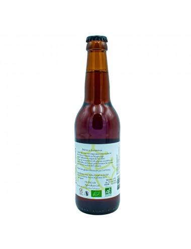 Bière Bio Ambrée artisanale La Cervoise 33cl - Brasserie des Garrigues