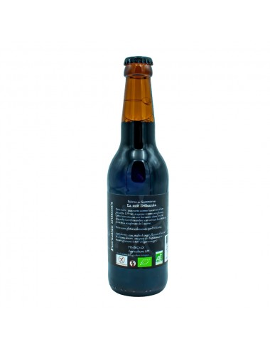 Bière Bio Brune artisanale Nuit Délicatula 33cl - Brasserie des Garrigues