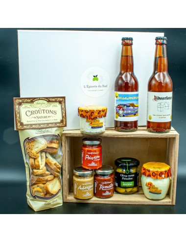 L'apéro Box - Édition Bières - Épicerie du Sud