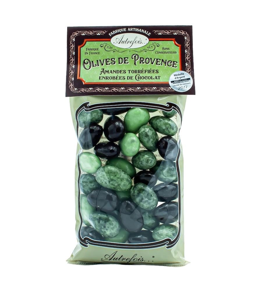 Olives de Provence Chocolat - 170g - Autrefois
