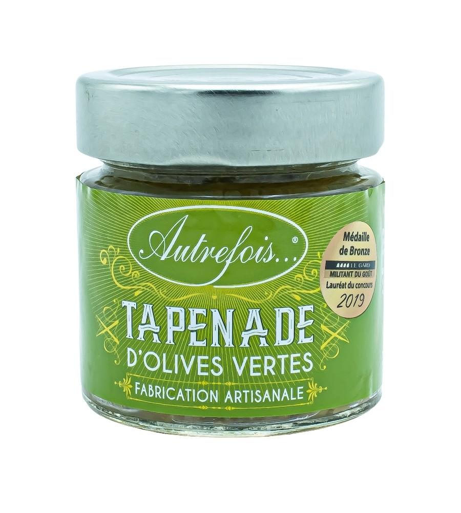 Tapenade d'olives vertes 100g - Autrefois