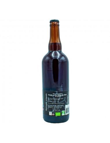 Bière Bio Ambrée artisanale Charlie et les Drôles de Cônes 75cl - Brasserie des Garrigues