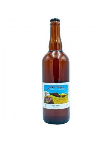 Bière Bio Blonde artisanale La Belle en Goguette 75cl - Brasserie des Garrigues