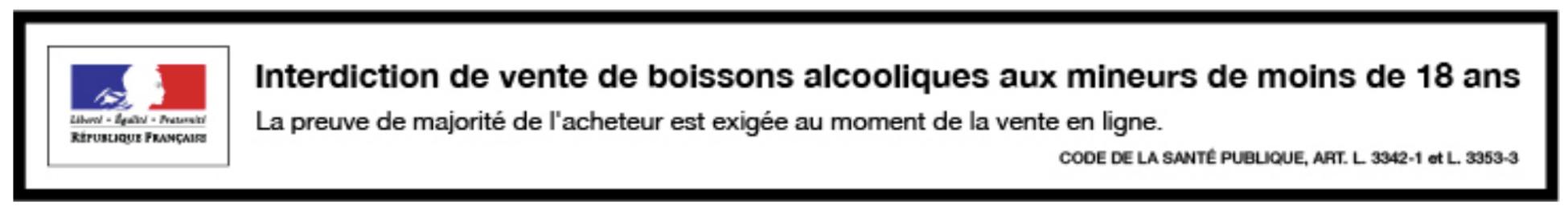 Alcool bannière gouv