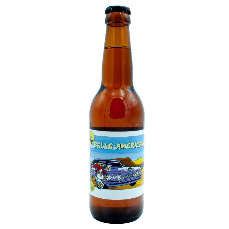 Bière blonde Belle Américaine