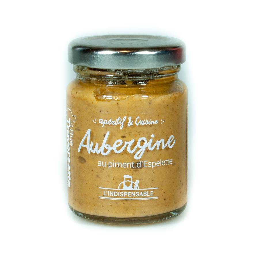 Caviar d'aubergine piment d'espelette