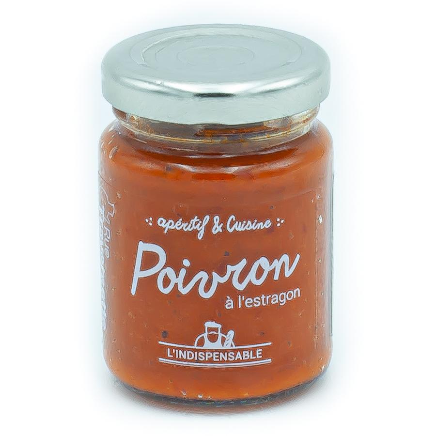 Crème de poivron à l'estragon