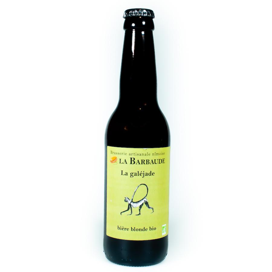 Bière blonde La Galéjade Brasserie La Barbaude