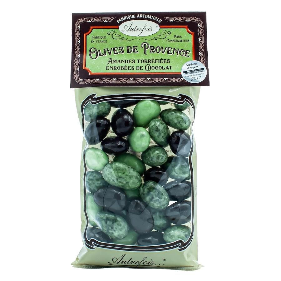 Olives de Provence en chocolat - Autrefois