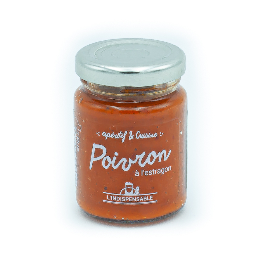 Crème de poivron à l'estragon - Ruetraversette