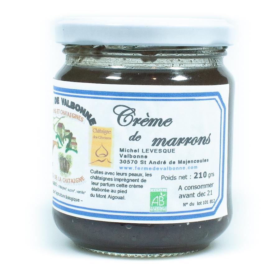 Crème de marrons nature