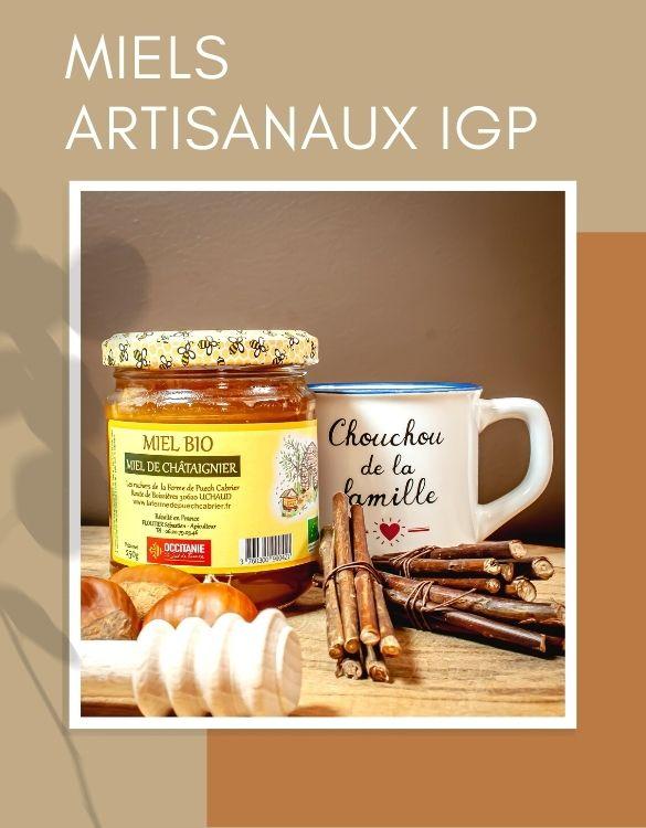 Miels artisanaux IGP